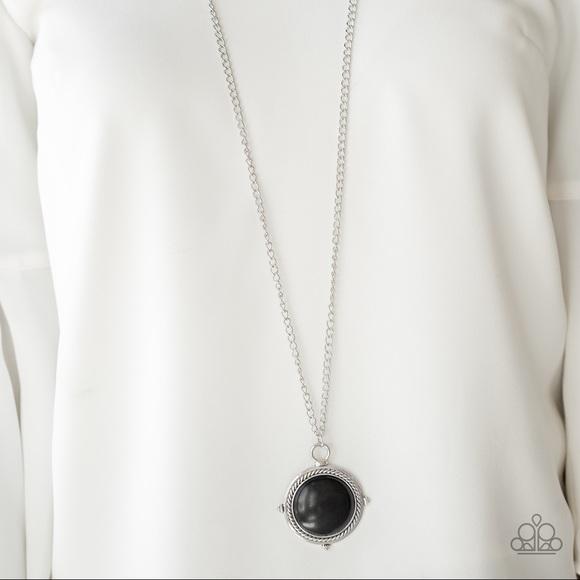 "paparazzi Jewelry - New! Paparazzi ""Desert Equinox"" Black Necklace"